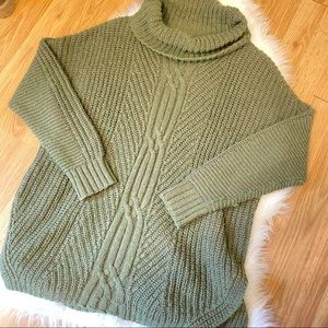 Army Olive Green Sweater